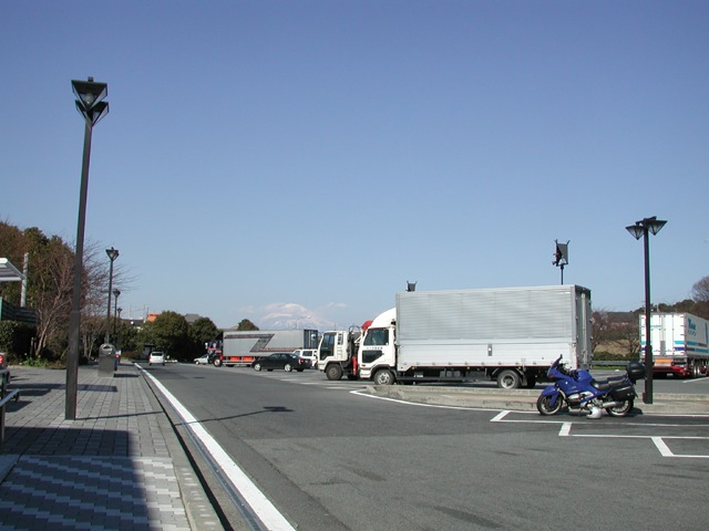 Nihondaira parking area
