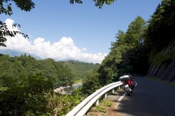 長野県道18 中川村