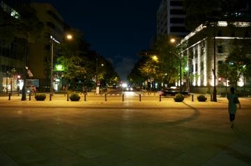 横浜公園交差点