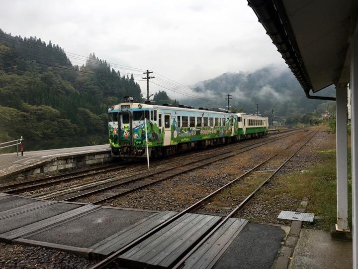 会津川口駅
