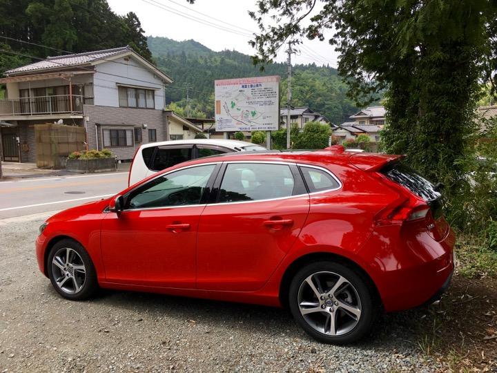 滝富士登山駐車場