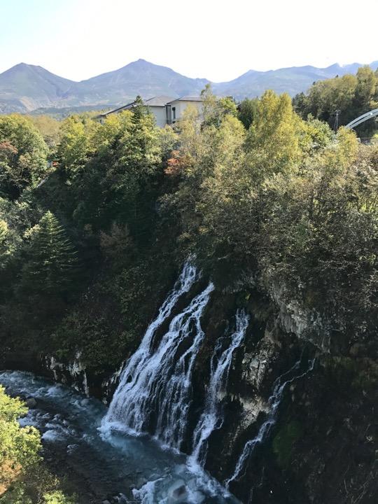 しらひげの滝