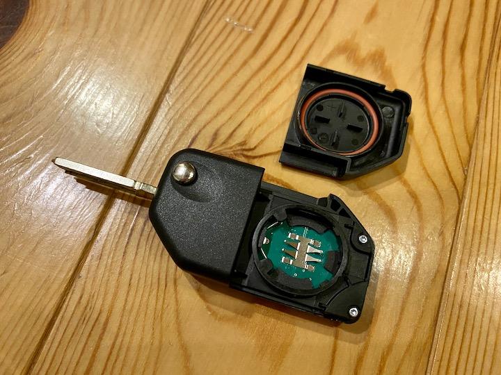 C400X無線キー