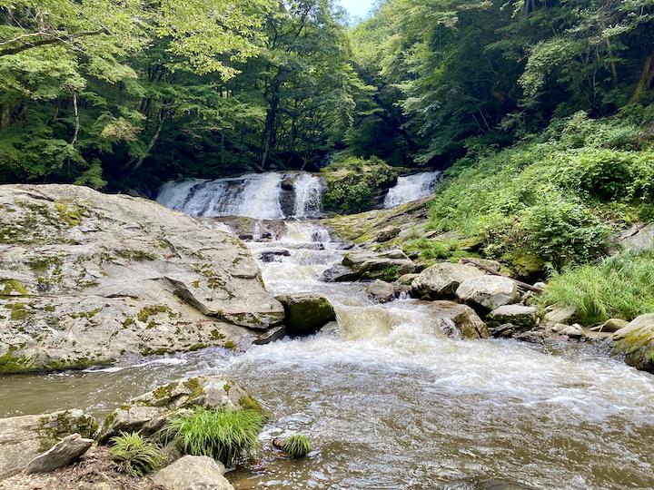 江竜田の滝 - 二見ヶ滝