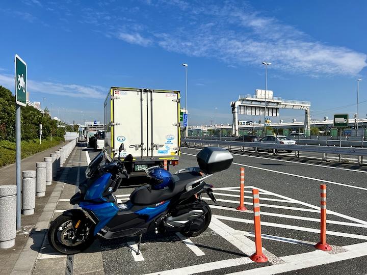 大井パーキングエリア(東行き)