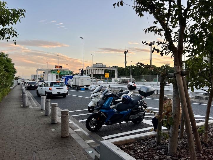 大井パーキングエリア(西行き)